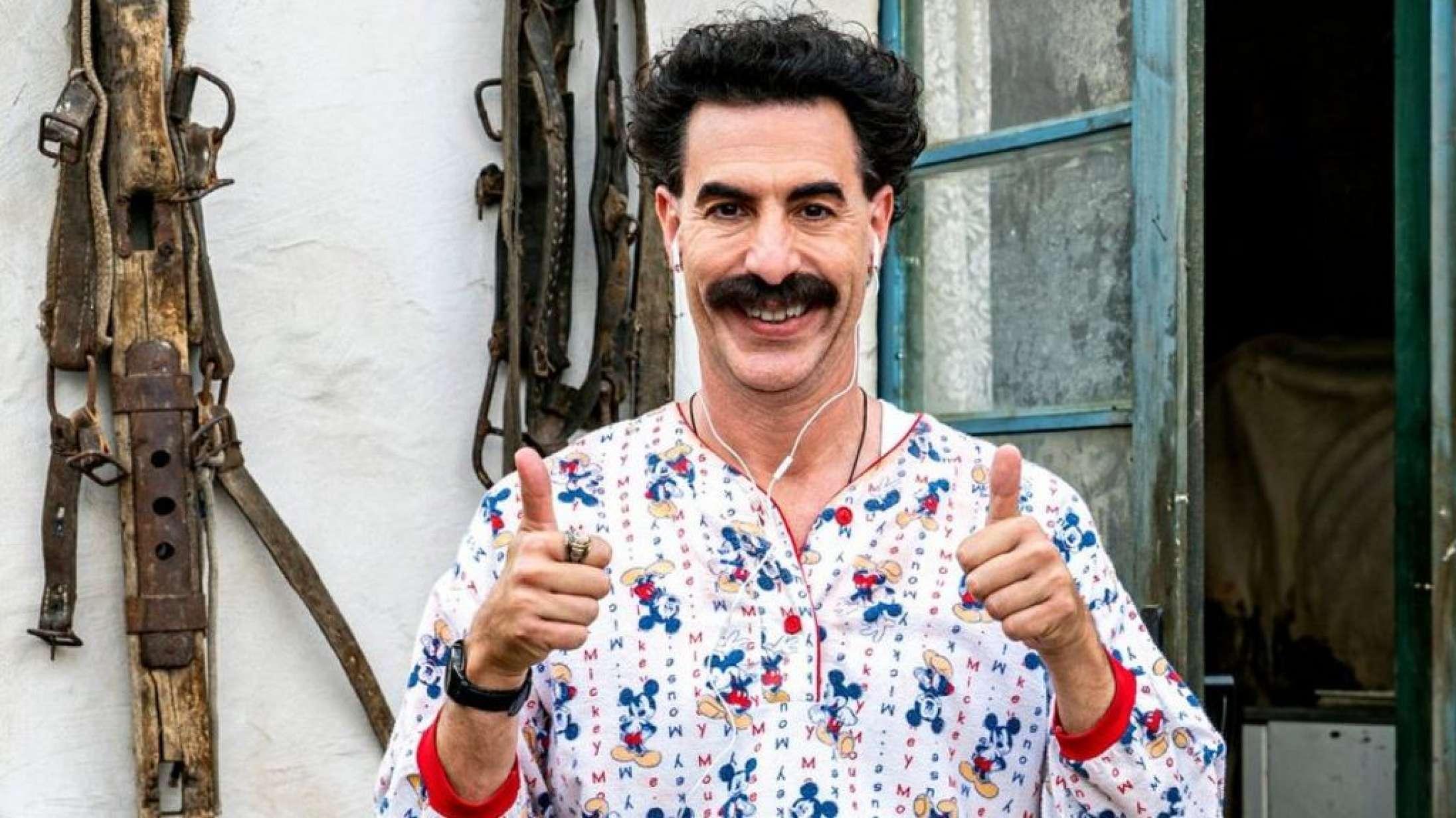 Én scene i den nye 'Borat'-film fik det til at løbe iskoldt ned ad ryggen på mig