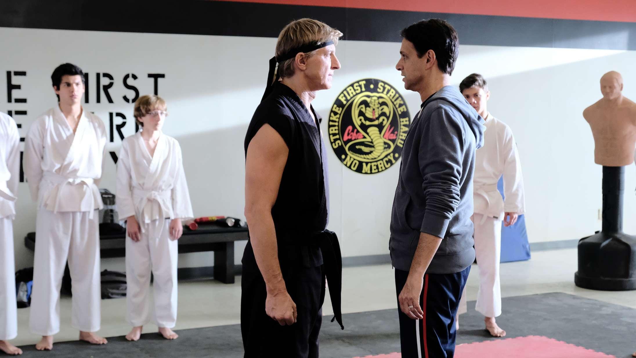 Ærkerivaler forenes i 'Cobra Kai' – se traileren til den kommende sæson 4