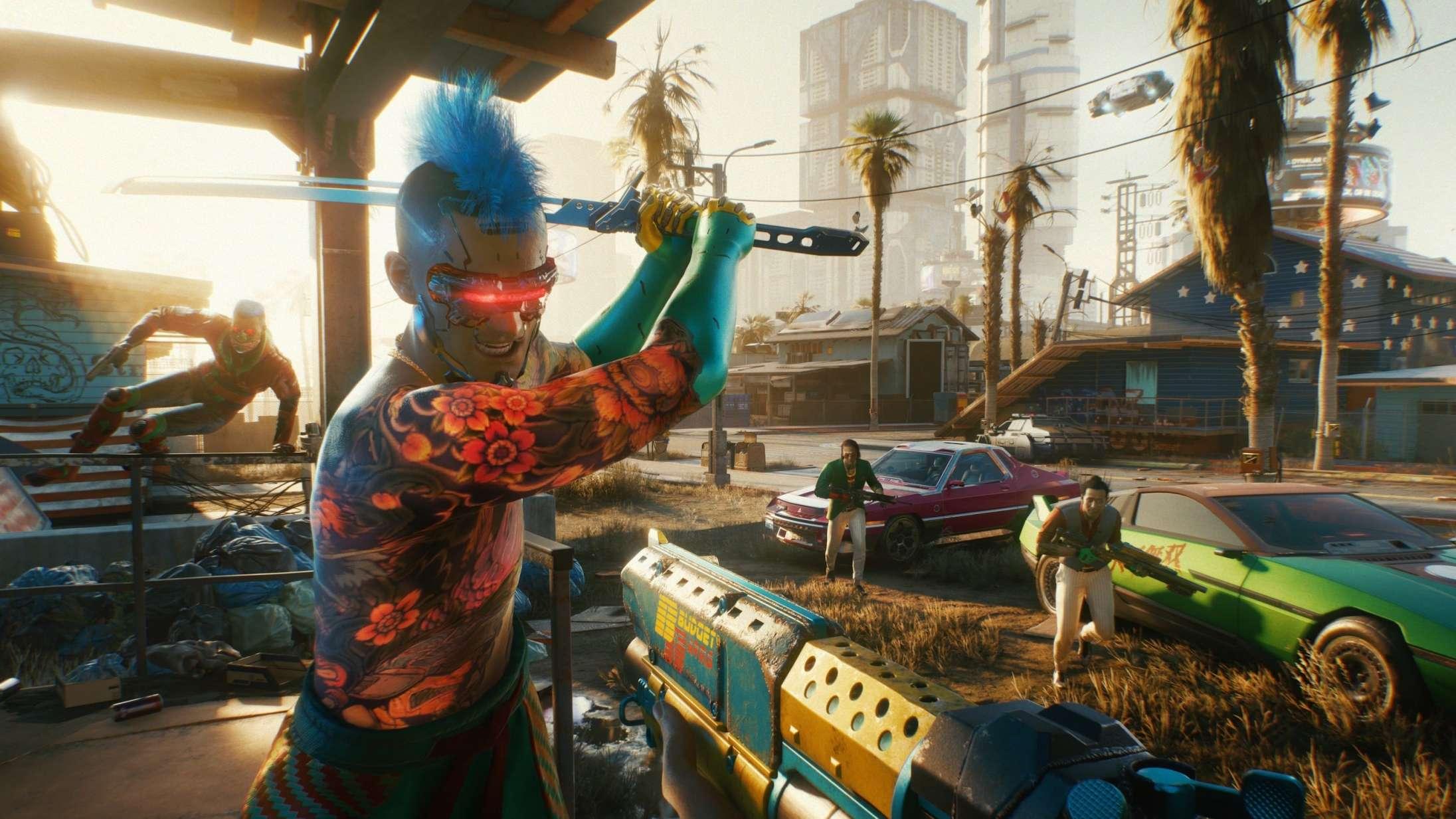 'Cyberpunk 2077' vender endelig tilbage til PlayStation Store