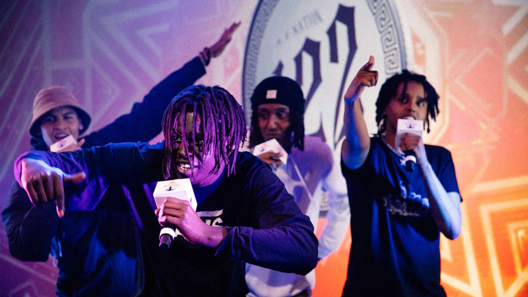 Tre hiphop-crews, der har inspireret Hunnid22: »De er familie, og man kan mærke det«