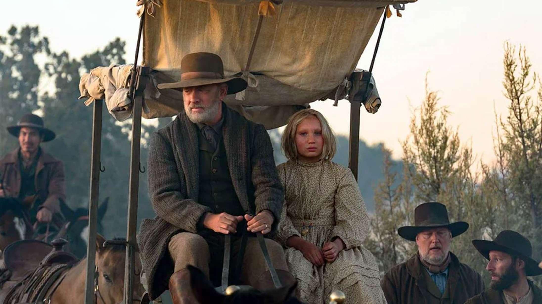 'News of the World': 12-årigt stortalent giver Tom Hanks modspil i Oscar-tippet western på Netflix