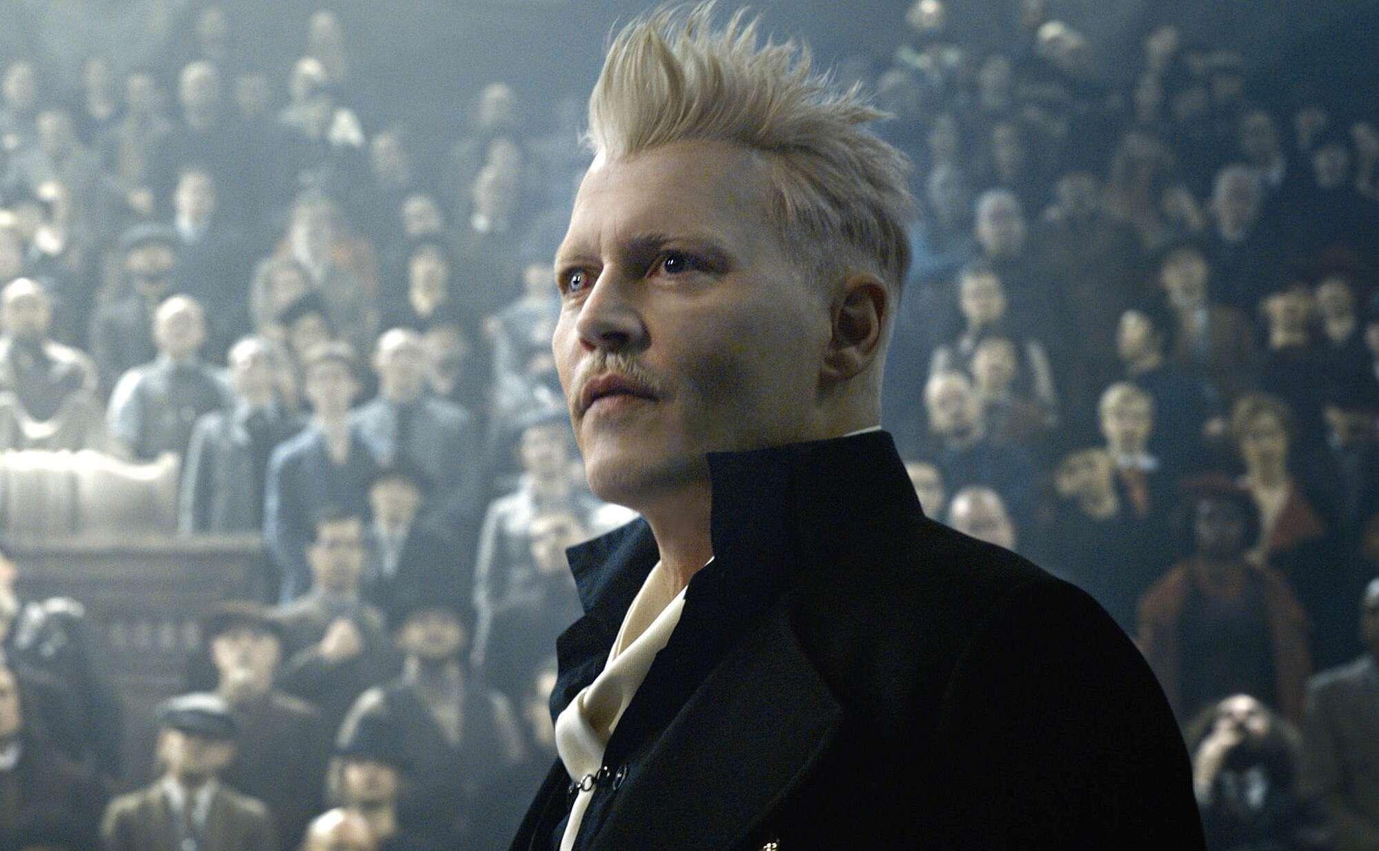Johnny Depp fyret fra 'Fantastiske skabninger'