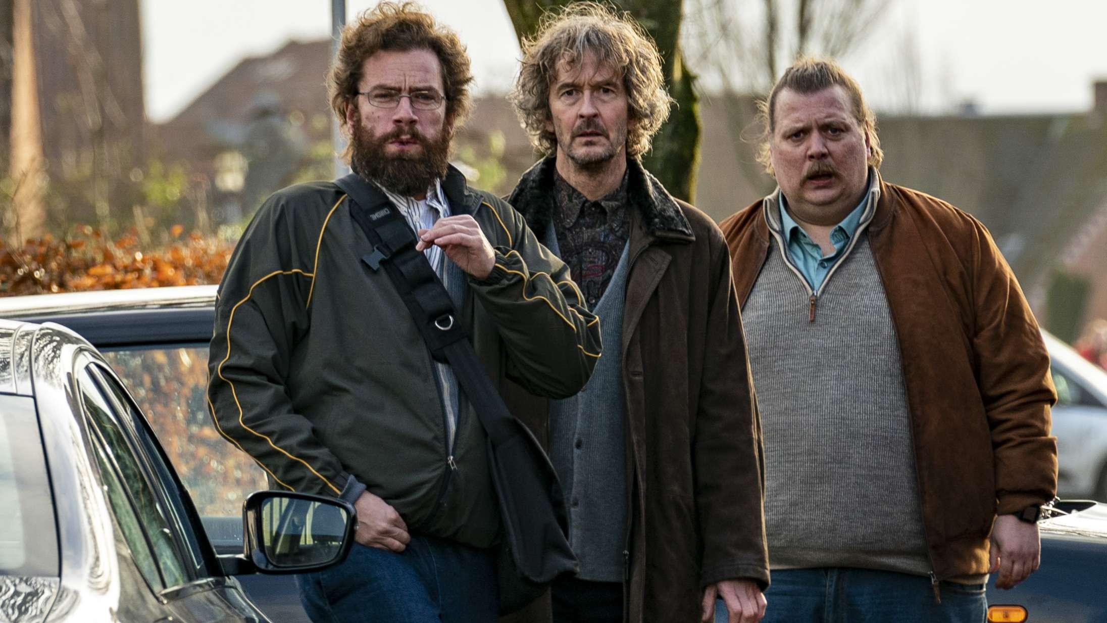 Mads Mikkelsen og Anders Thomas Jensen afslører den sjoveste skuespiller på optagelserne til 'Retfærdighedens ryttere'