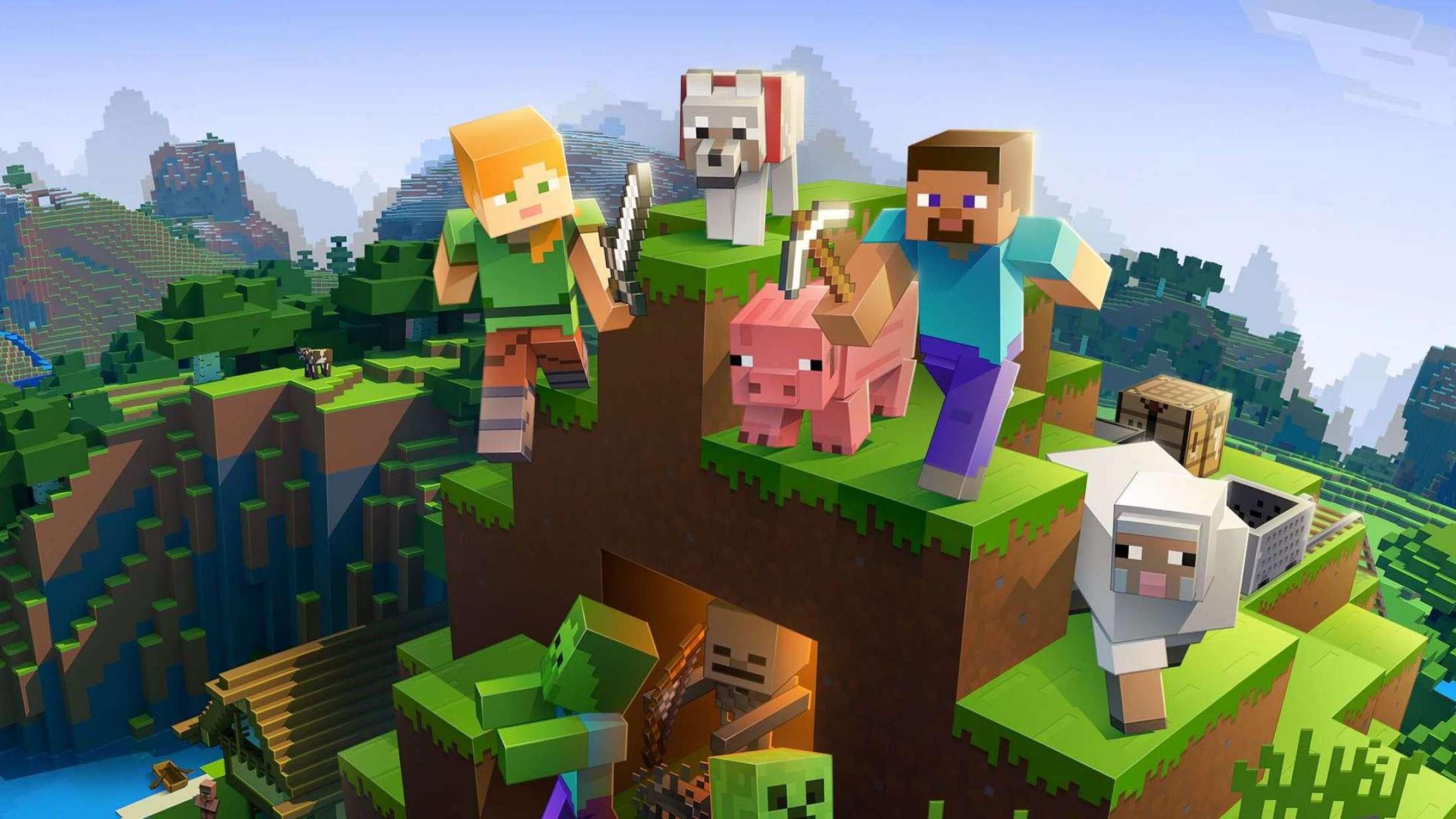 Danmark er blevet genskabt i 'Minecraft' – og det er meget, meget fladt