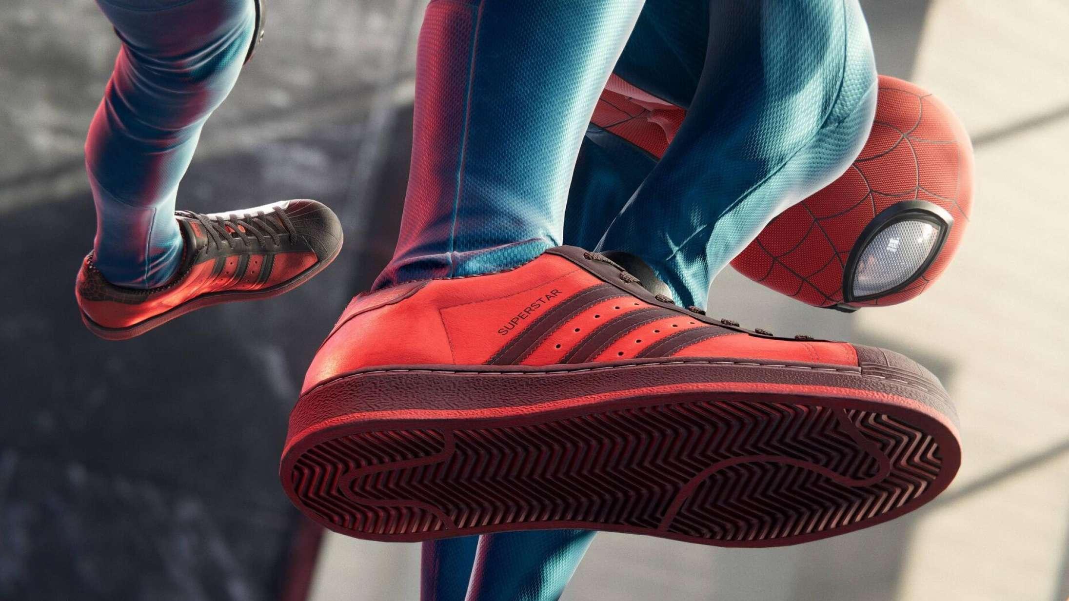Efterårets værste gaming-trend fortsætter: PlayStation og adidas afslører 'Spider-Man'-sneakers
