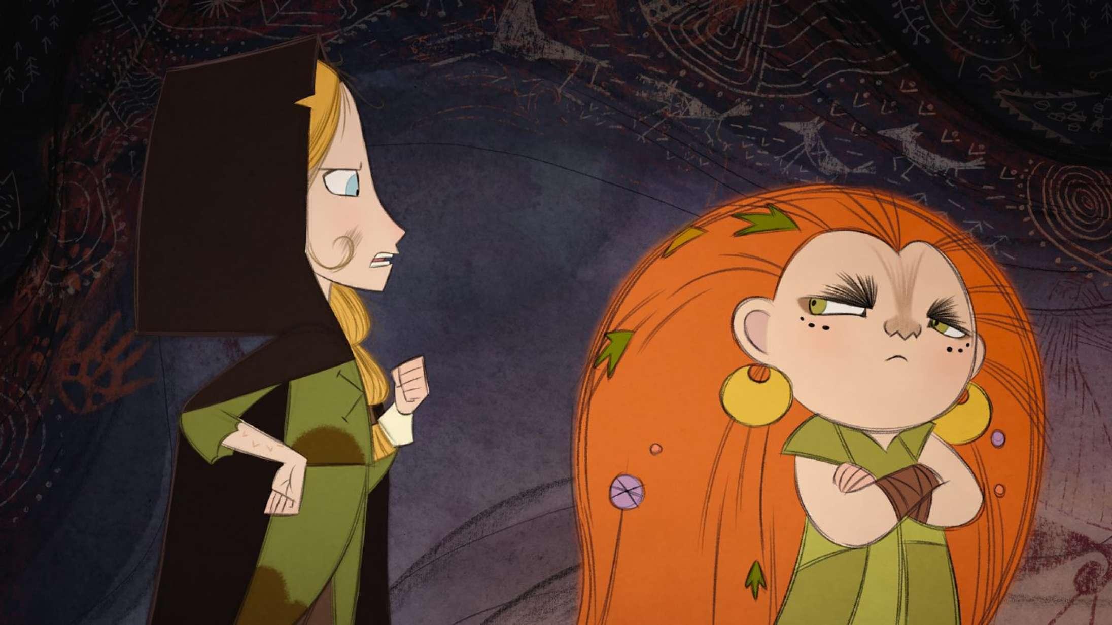 'Wolfwalkers': Blødende smuk animationsfilm løfter arven fra Disneys animationsguldalder