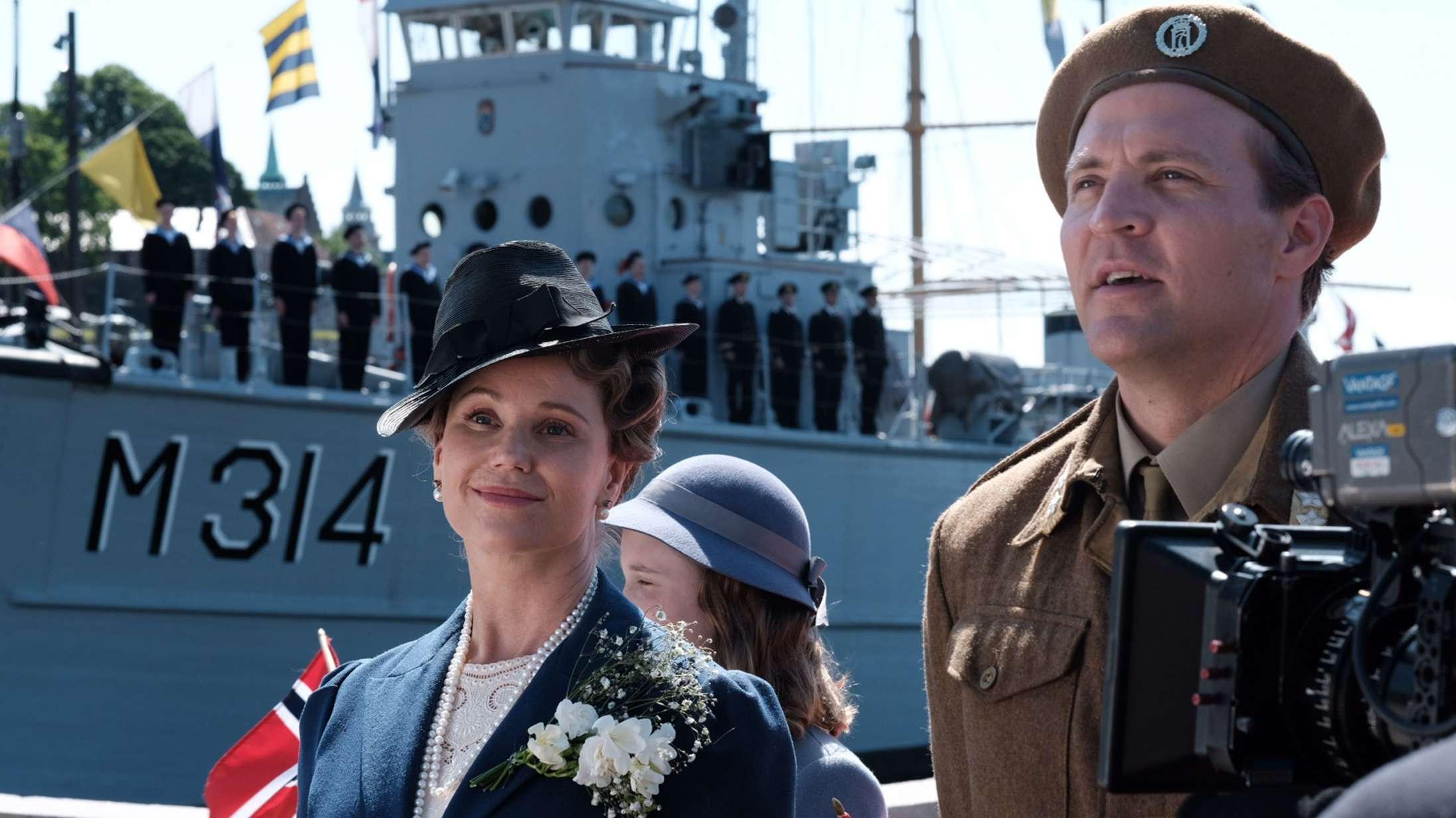 'Atlantic Crossing': Norsk hitserie lukker os aldrig helt ind i Kronprinsessens gemakker