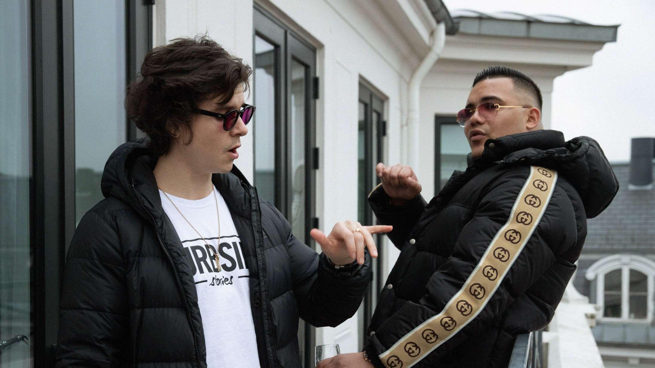 Se Branco og Lukas Graham poppe champagne i musikvideoen til 'No Evil'