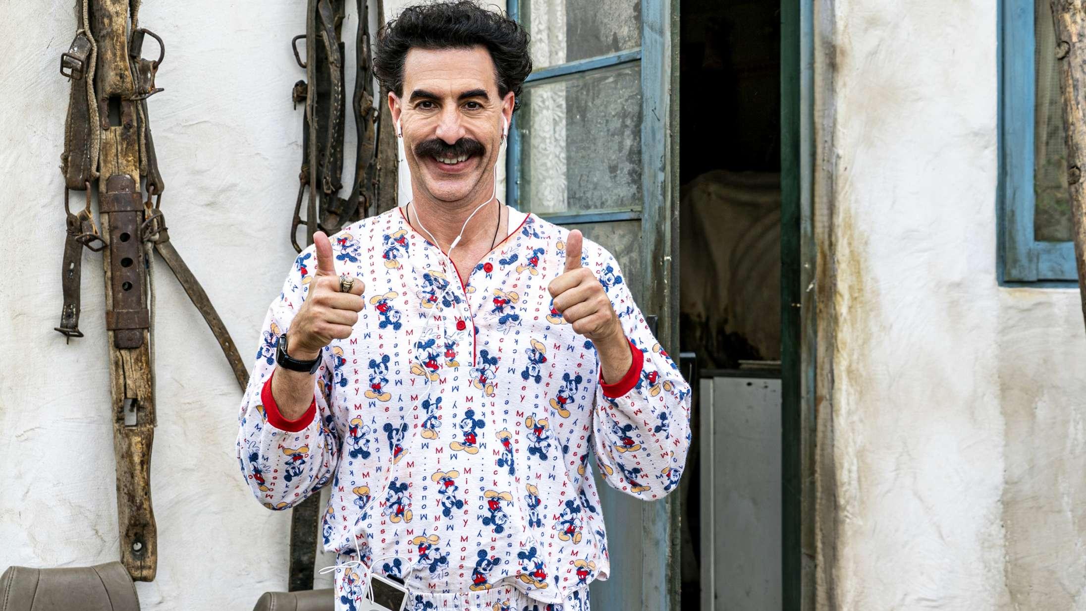Hele tre 'Borat'-specials udkommer i næste uge (den ene med Hillary Clinton) –se trailerne