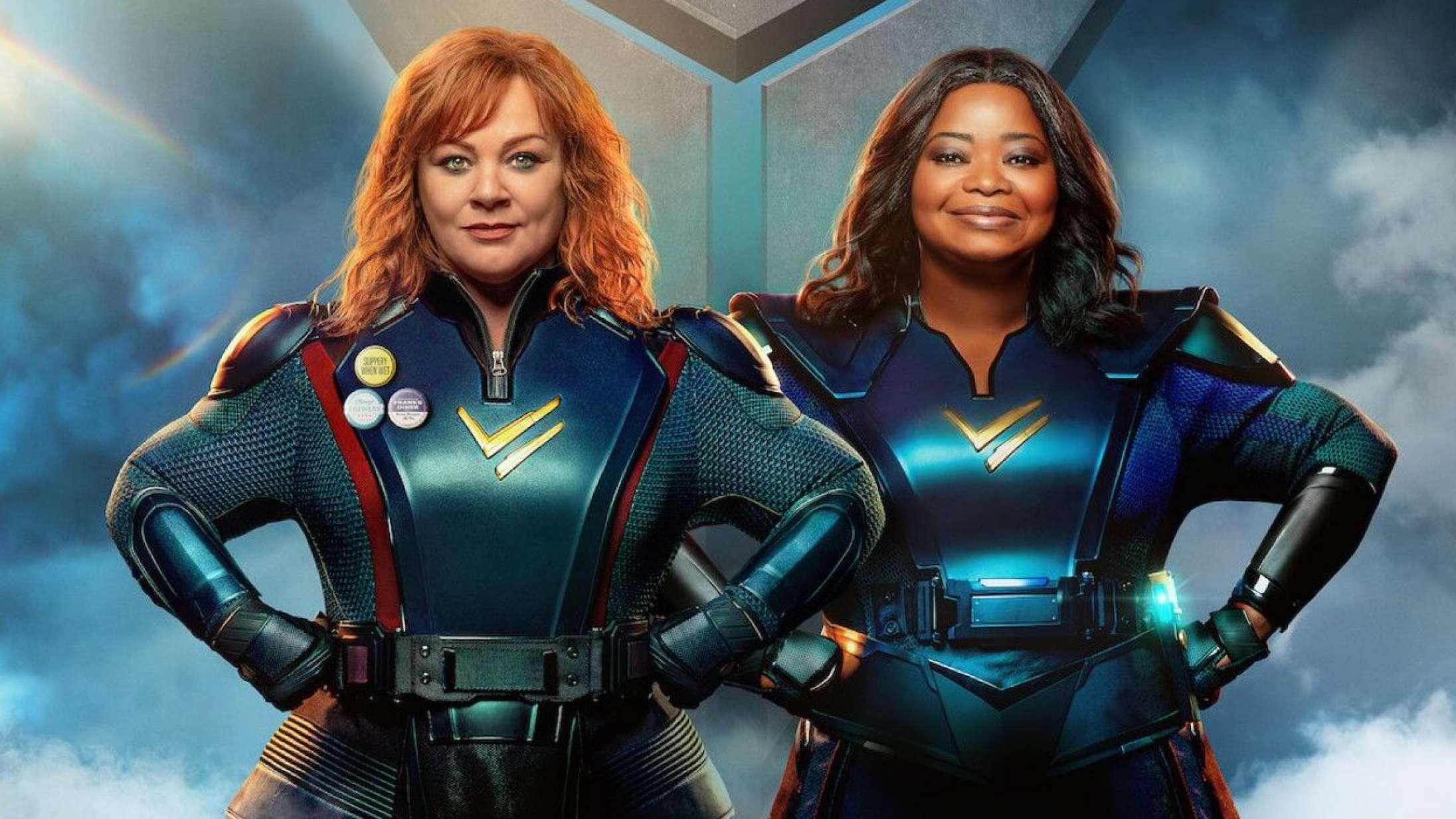 Melissa McCarthy og Octavia Spencer får superkræfter i ny Netflix-komedie –se traileren til 'Thunder Force'