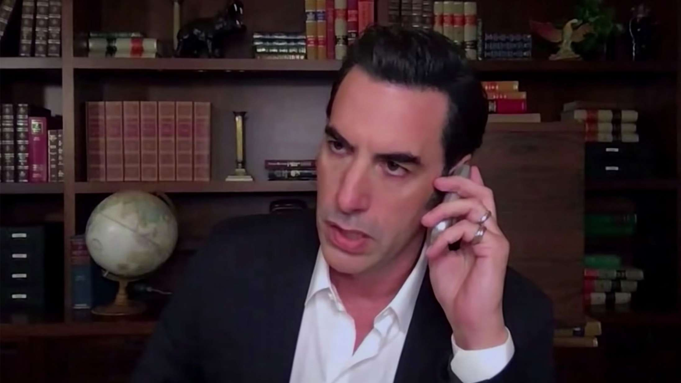 Har Sacha Baron Cohen lige lavet et af årets sjoveste talkshow-øjeblikke?