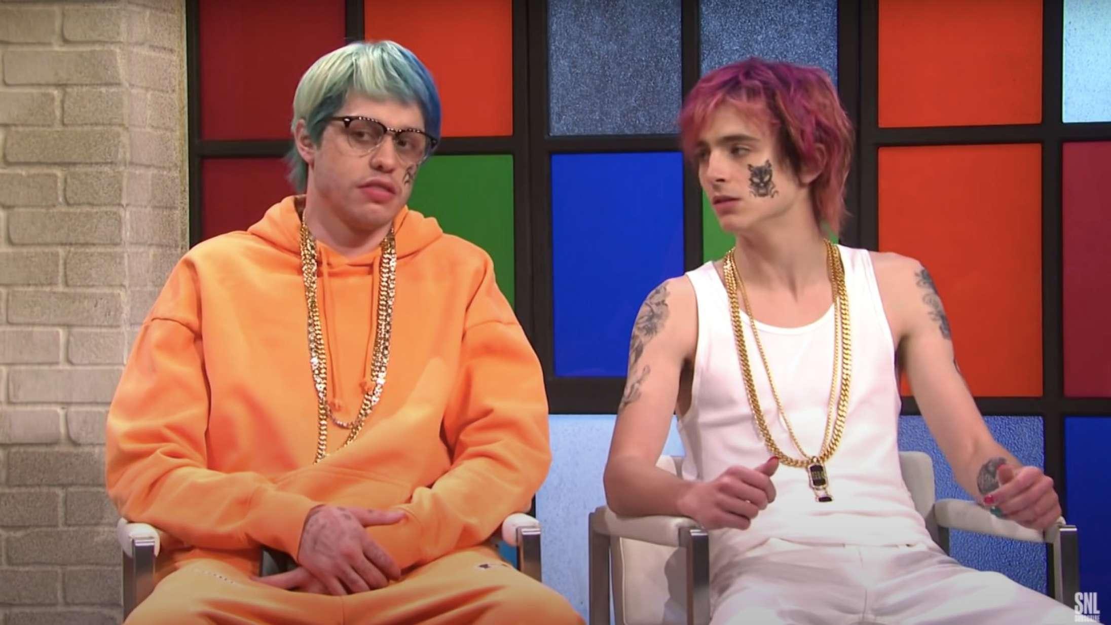 Pete Davidson ville gerne slås ægte i hovedet af Questlove i en af sæsonens mest virale 'SNL'-sketches