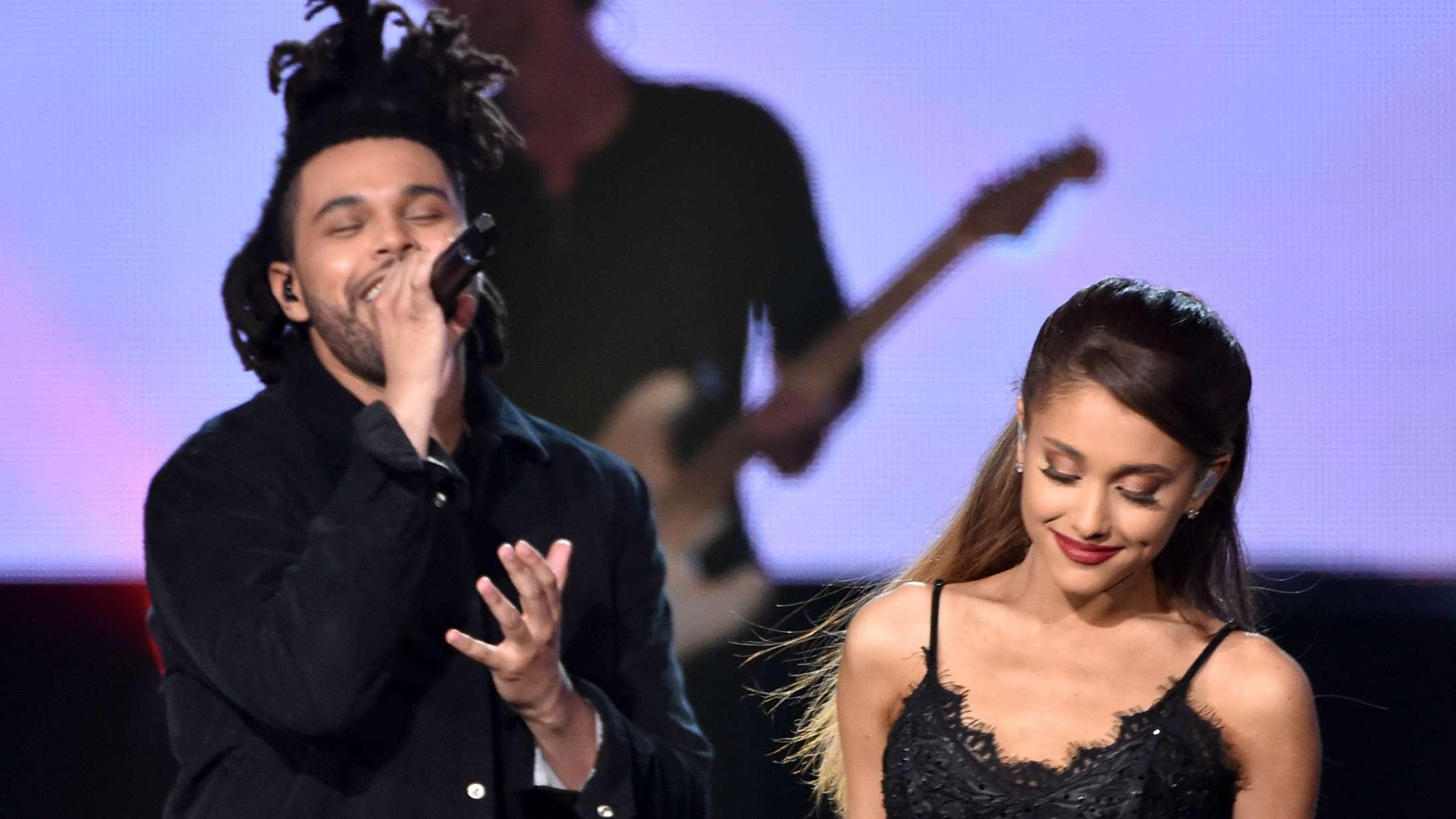 Hvad er det, The Weeknd og Ariana Grande teaser på sociale medier?