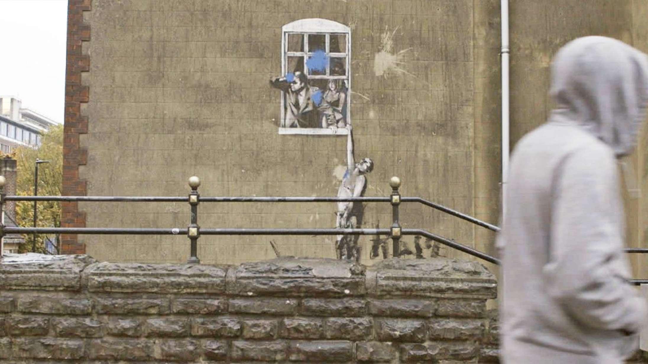 'Banksy Most Wanted': Banksy for begyndere er en uinspireret omgang