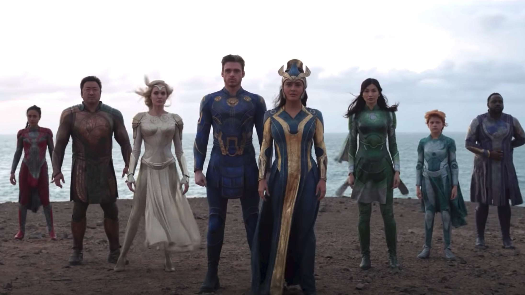 Første fulde 'Eternals'-trailer introducerer Marvels nye superheltegruppe
