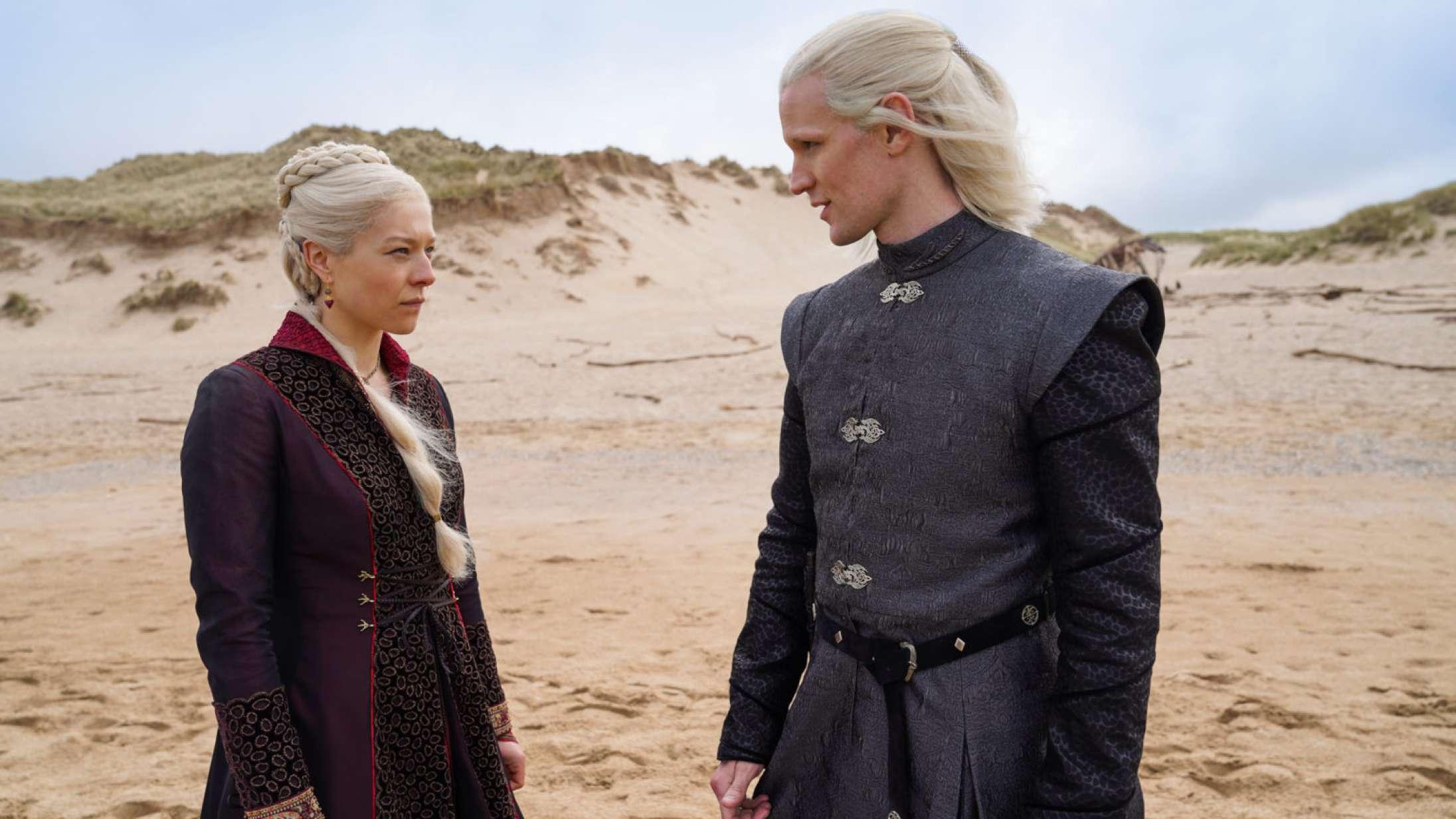 Se de første billeder til 'Game of Thrones'-spinoffserien 'House of the Dragon'