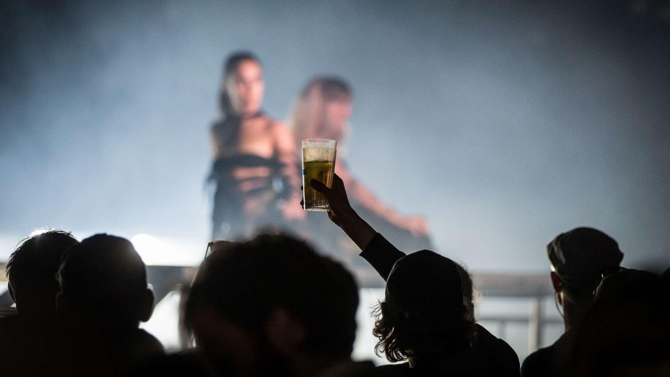 Sådan så det ud, da Roskilde Festival igen kunne invitere til koncerter på Dyrskuepladsen