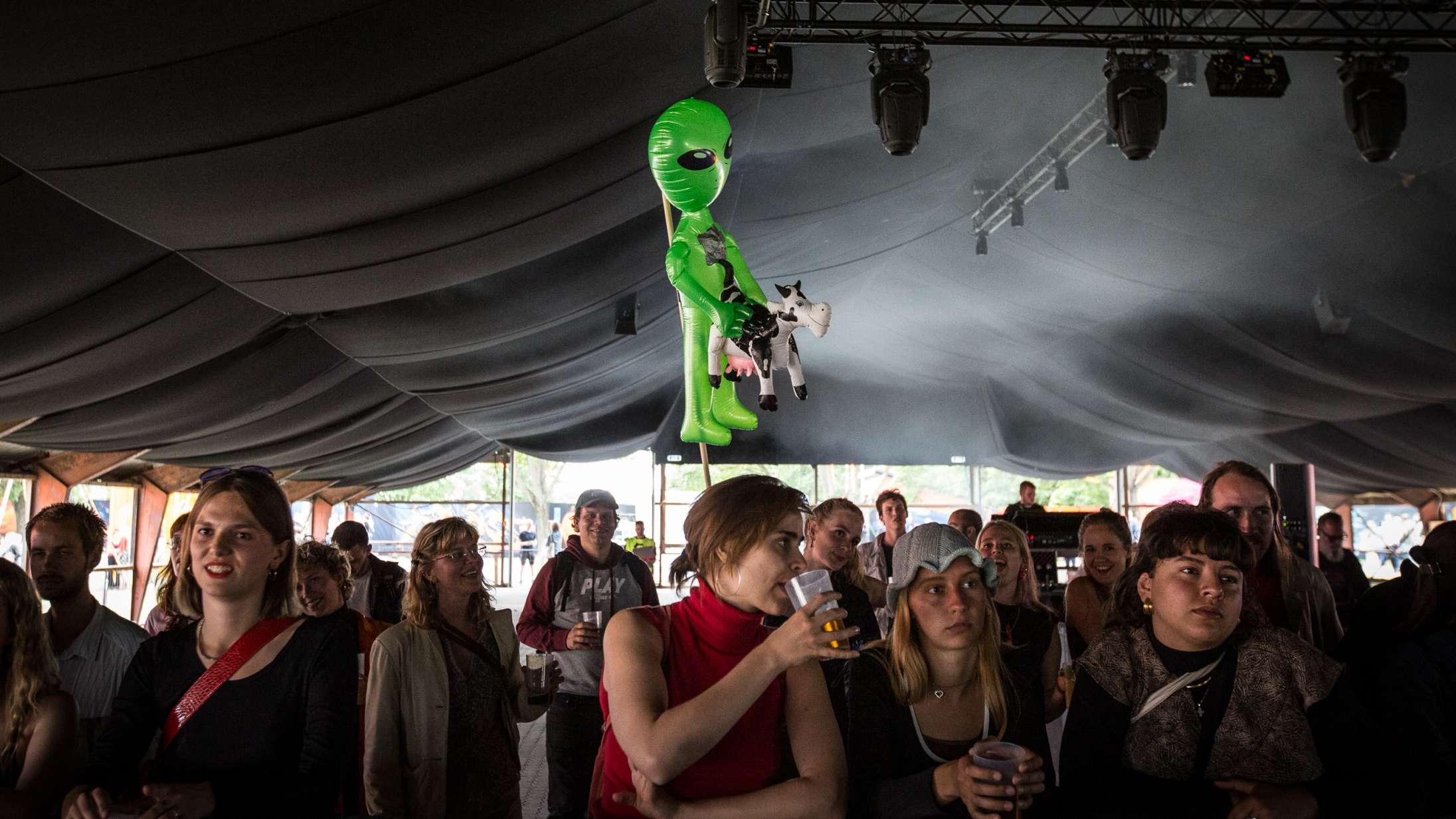 Jeg har savnet selv Roskilde Festivals sløje toiletpapir