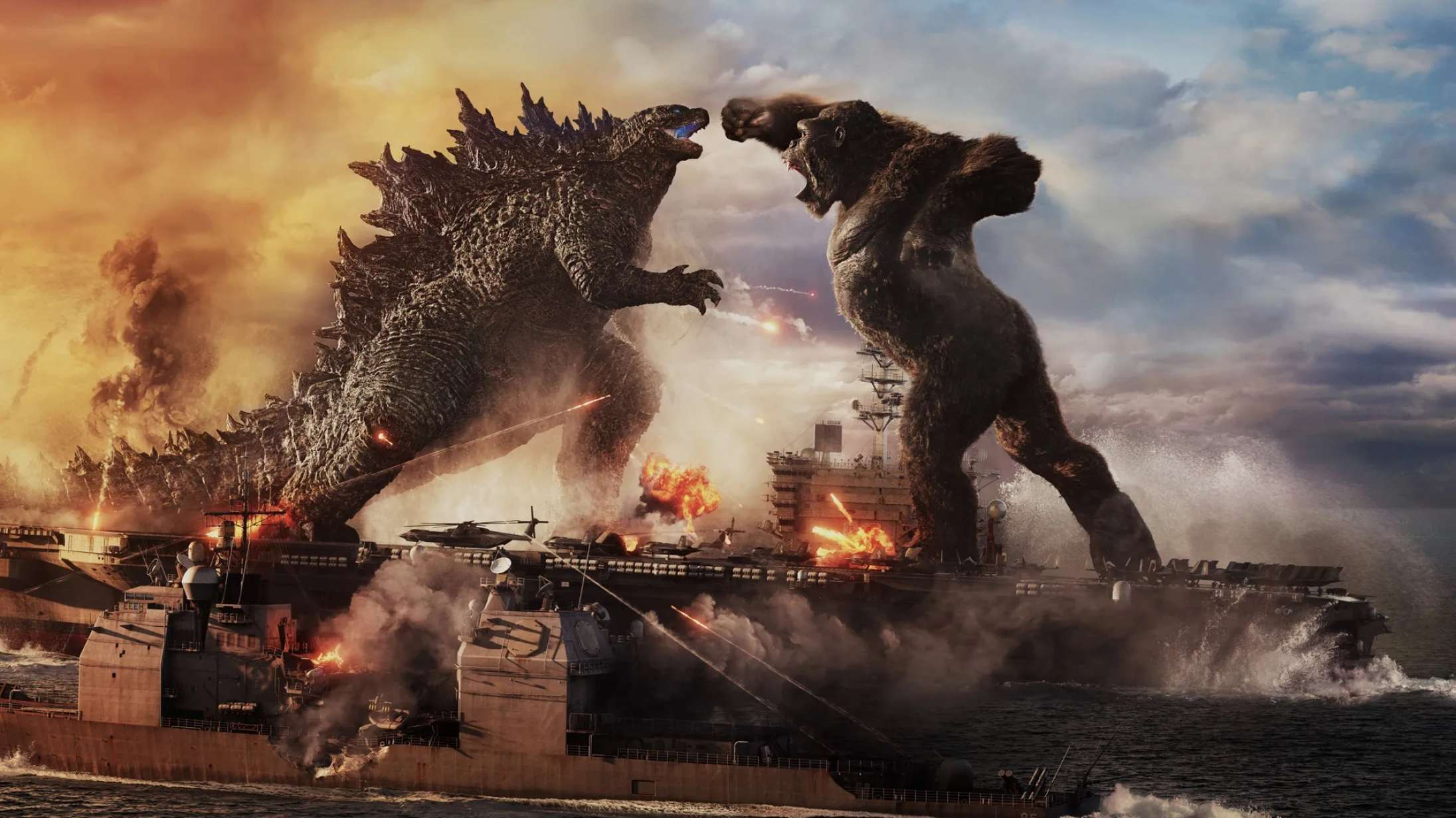 'Godzilla vs. Kong': Den lille skærm taber actionstorfilm på gulvet