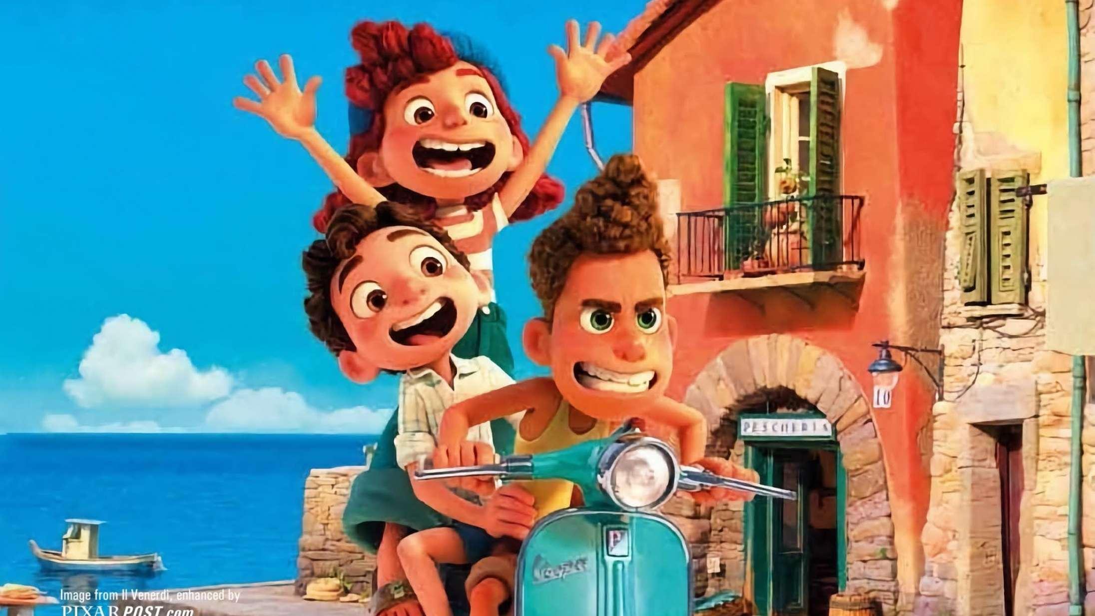 'Luca': Pixars nye film er uskyldigt charmerende