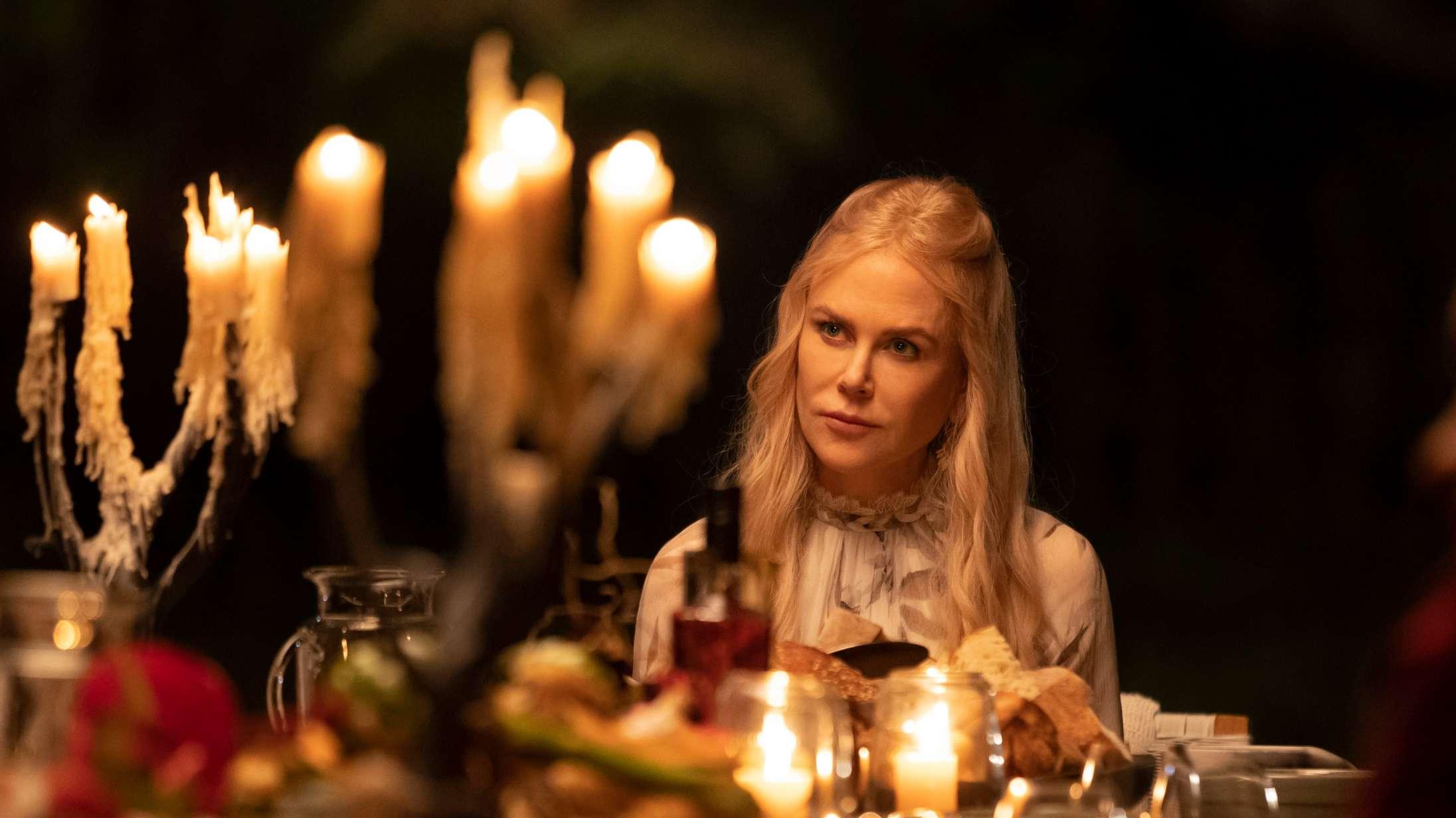 'Nine Perfect Strangers': Nicole Kidman lyder som en russisk pornostjerne med mad i munden i stjernebesat serie