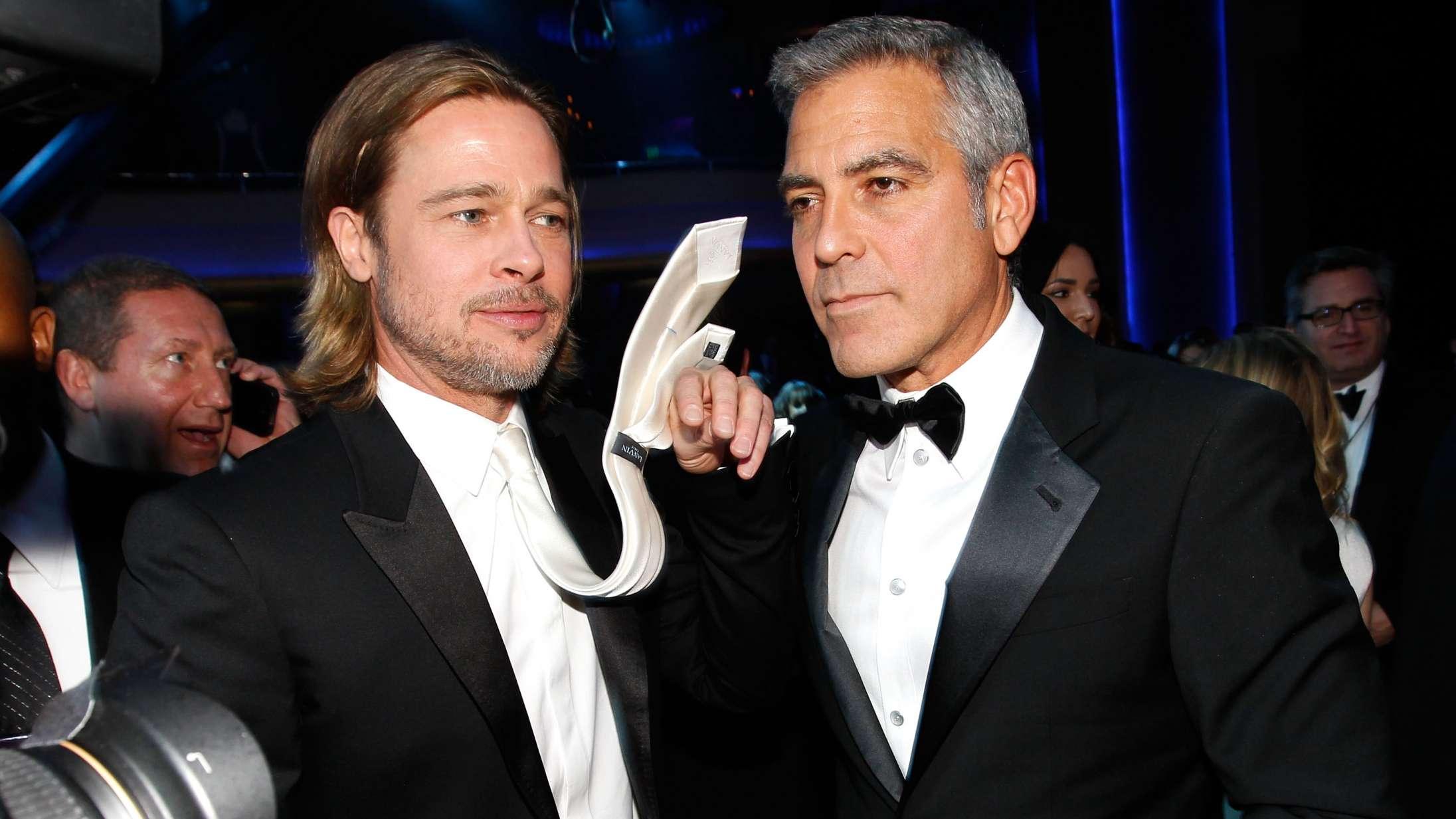 Alle i Hollywood kæmper om ny film med Brad Pitt og George Clooney