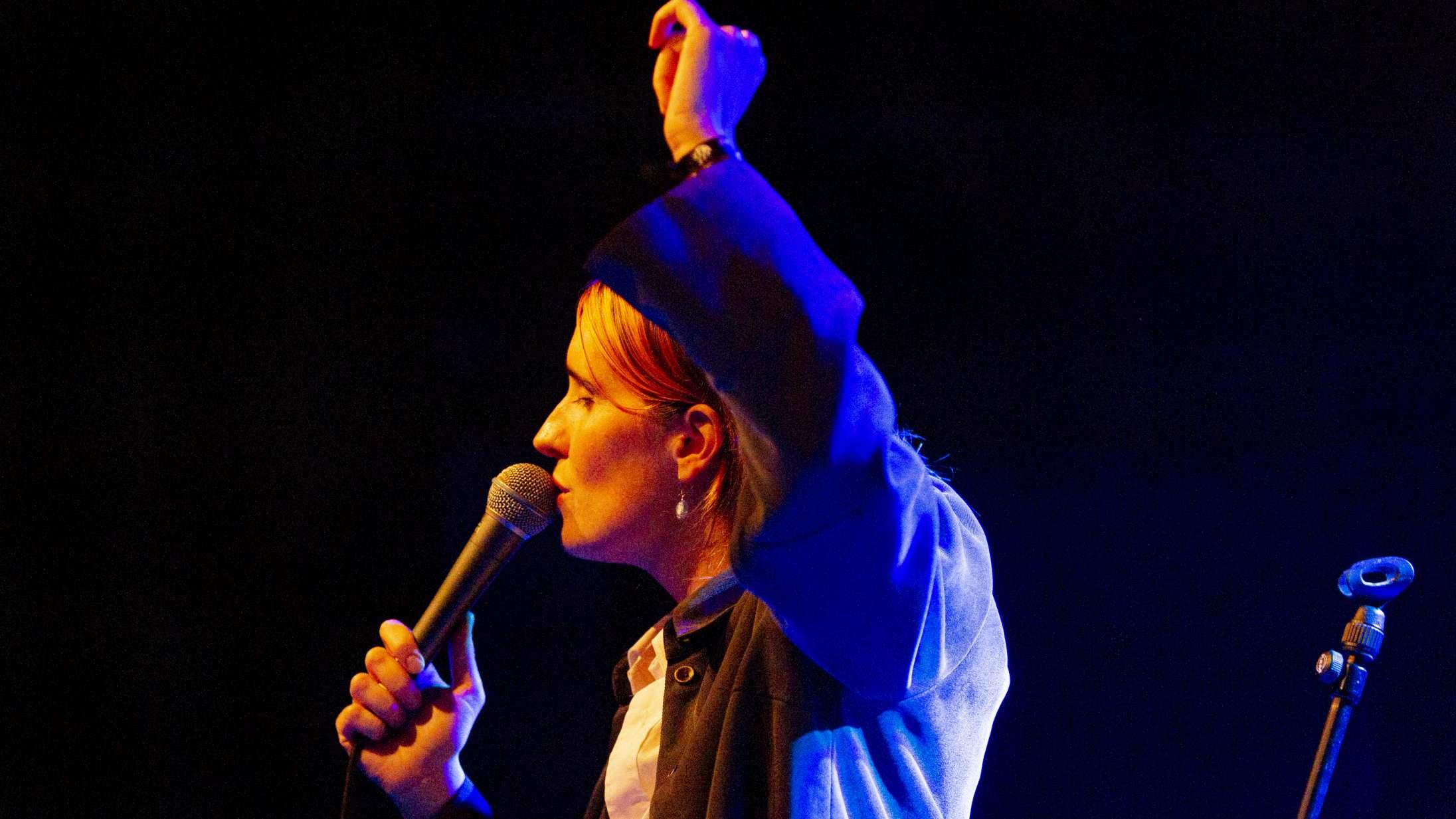 Selina Gins sårbare stemme gav en god gedigen klump i halsen på Spot Festival