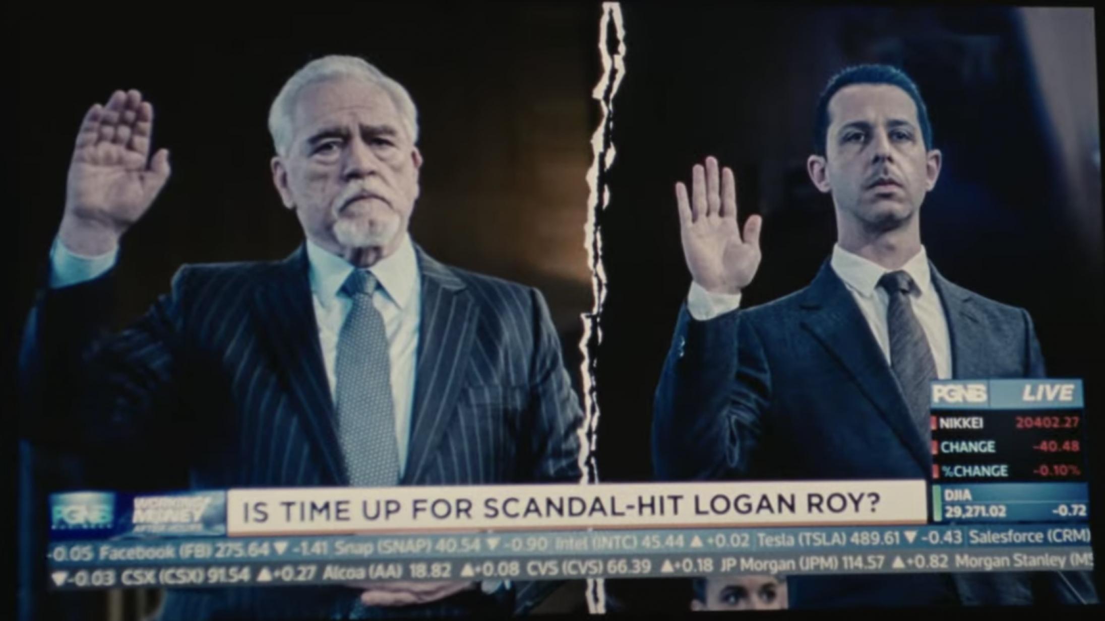 Familiekrigen eskalerer i den hæsblæsende trailer til 'Succession' sæson 3