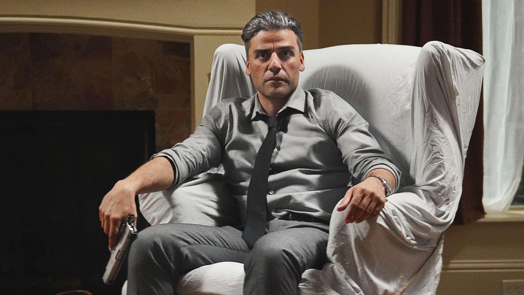 Soundvenue Live: Kom til forpremiere på 'The Card Counter' med Oscar Isaac i pokerspillende kraftpræstation