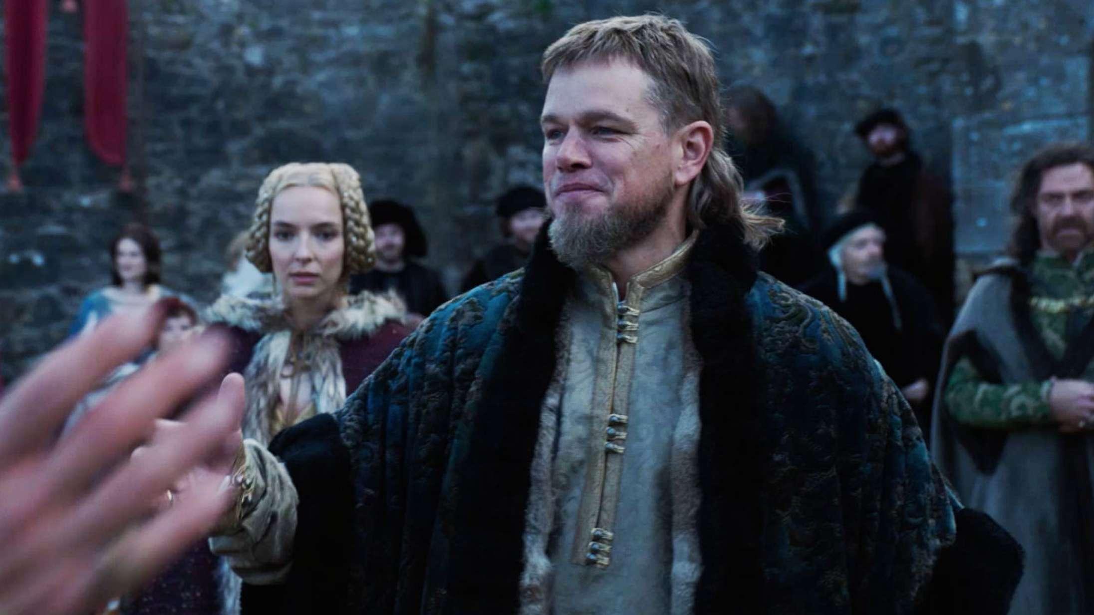 Ben Affleck og Matt Damon »chokeret« over deres frisure i Ridley Scotts kommende storfilm